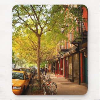 Autumn in Alphabet City, East Village, NYC Mouse Pad