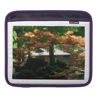 Autumn In An Oriental Garden Sleeve For iPads