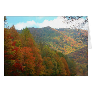 Autumn in Appalachia Stationery Note Card