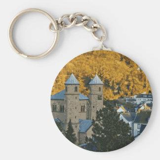Autumn in Bad Muenstereifel Keychains