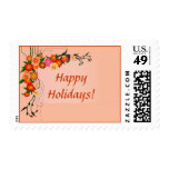 Autumn in Bloom Colorful Fall Floral Stamps