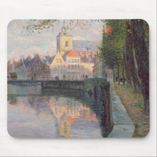 Autumn in Bruges Mousepads