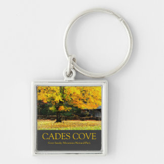 Autumn in Cades Cove, Great Smoky Mountains Keychain