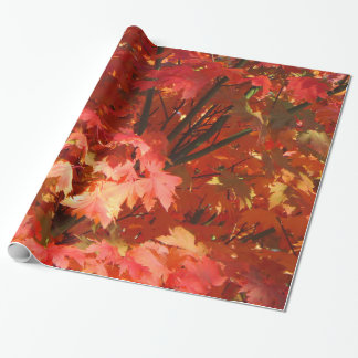Autumn in Canberra Wrapping Paper