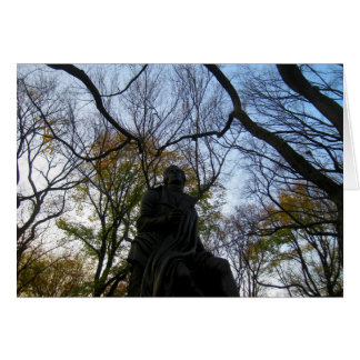 Autumn in Central Park Card