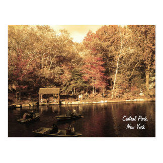 Autumn in Central Park Post Card