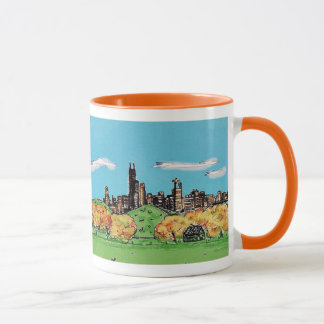 Autumn in Chicago Mug