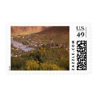 Autumn in Cochem, Rheinland Pfalz, Germany Postage