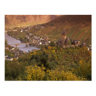 Autumn in Cochem, Rheinland Pfalz, Germany Postcard