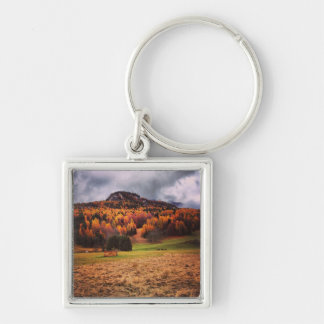 Autumn in Dolomiti Mountains Key Chain