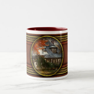 Autumn - In every fairy tale Two-Tone Coffee Mug