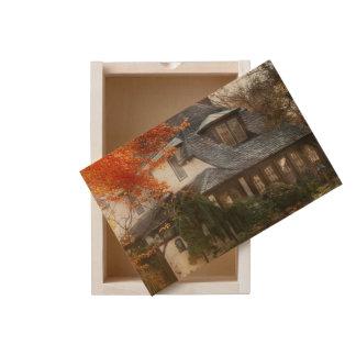 Autumn - In every fairy tale Wooden Keepsake Box