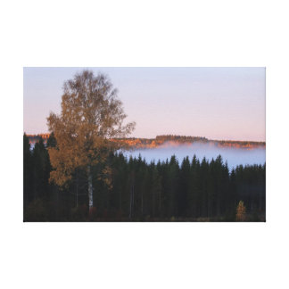 Autumn in Finland Gallery Wrapped Canvas