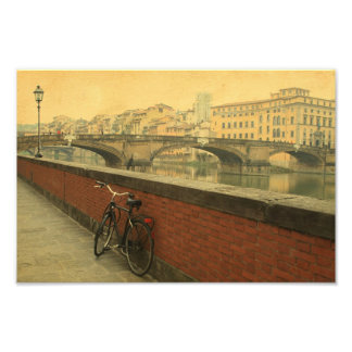 Autumn in Florence, vintage Photograph