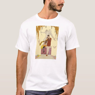Autumn in France Art Deco T-shirt