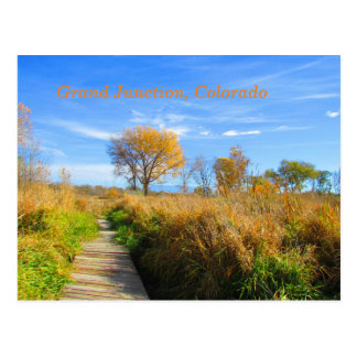 Autumn in Grand Junction, Colorado Postcard