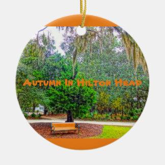 Autumn In Hilton Head Coastal Discovery Museum HHI Ceramic Ornament