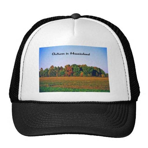 Autumn in Indiana Trucker Hat