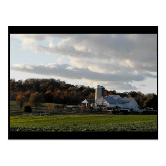 ~ Autumn in Lancaster County ~ 42 Postcard