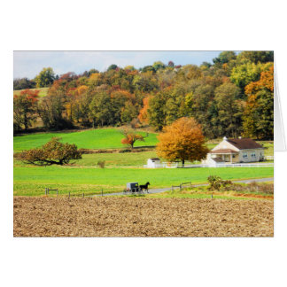 Autumn in Lancaster County, PA Card