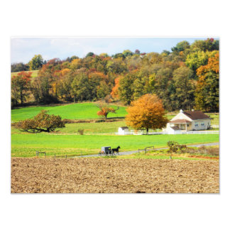 Autumn in Lancaster County, PA Photo Print