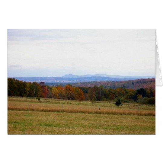 Autumn_In_Maine_7 Tarjeta De Felicitación