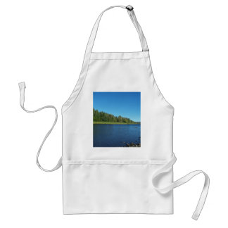 Autumn In Maine Adult Apron