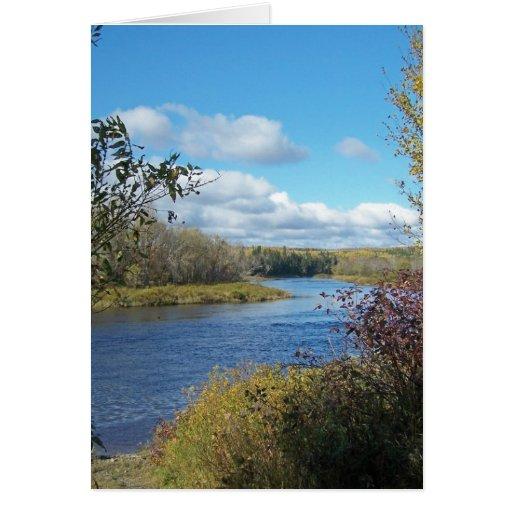 Autumn In Maine Card