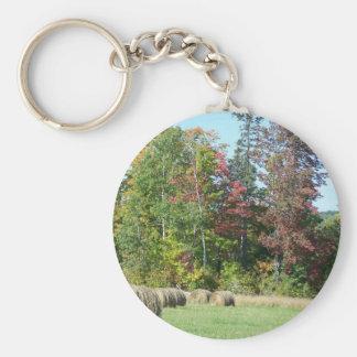 Autumn In Maine Key Chain
