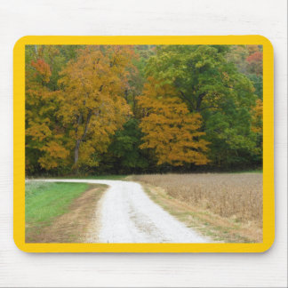Autumn in Mid Missouri Mouse Pad