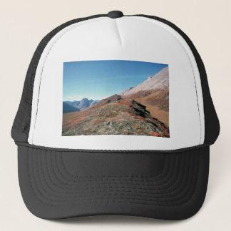 AUTUMN IN MOUNTAINS SCENIC TRUCKER HAT
