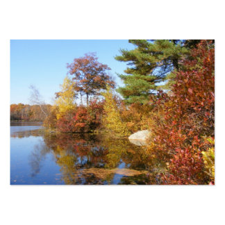 Autumn in New England 1 ~ ATC Business Card Template