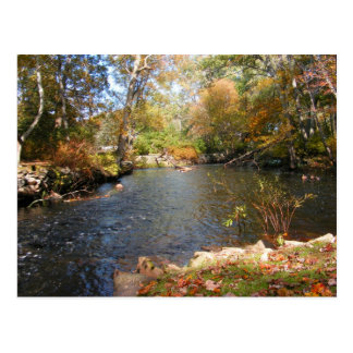 Autumn in New England 5 ~ postcard
