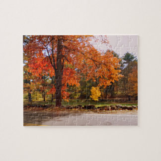AUTUMN IN NEW ENGLAND JIGSAW PUZZLES