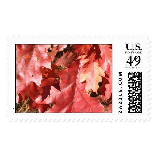 Autumn in New England Postage Stamps