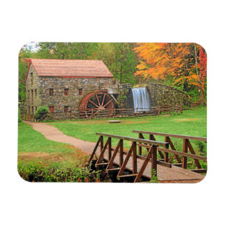 AUTUMN IN NEW ENGLAND RECTANGLE MAGNETS