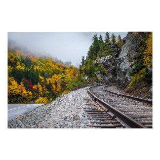 Autumn in New Hampshire Photographic Print