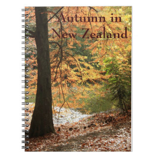 Autumn in New Zealand Notebook