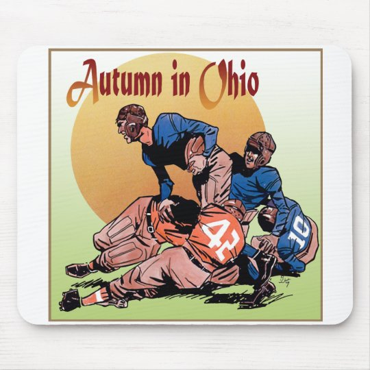 Autumn in Ohio Mouse Pad