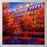 Autumn in Paris Posters