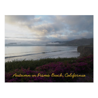 Autumn in Pismo Beach Postcard