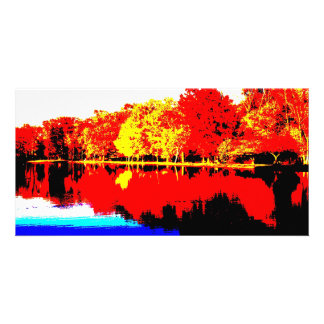 Autumn in Primary Colors Card