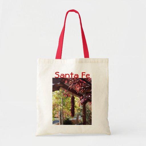Autumn in Santa Fe Tote Bag