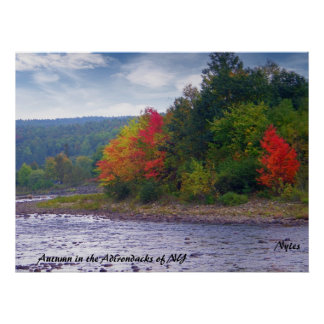 Autumn in the Adirondacks of NY Posters