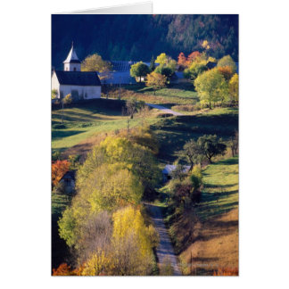 Autumn in the Alps Card