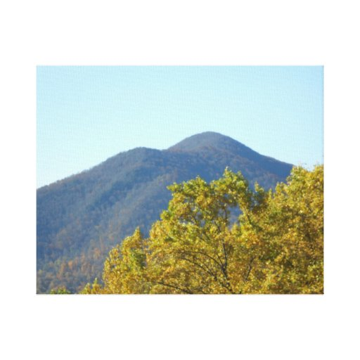 Autumn in the Appalachion Mountains Canvas Print