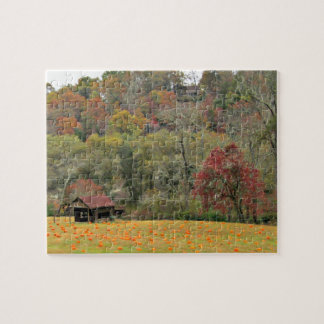 Autumn in the Blue Ridge Mountains Jigsaw Puzzle