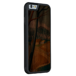 Autumn in the Country Carved Walnut iPhone 6 Bumper Case