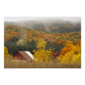 """""""AUTUMN IN THE COUNTRY"""" POSTER"""