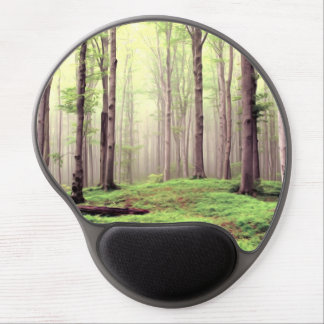 Autumn in the forest gel mousepads
